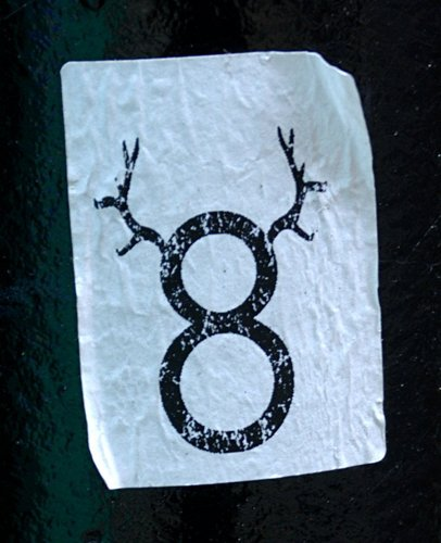 8 with antlers