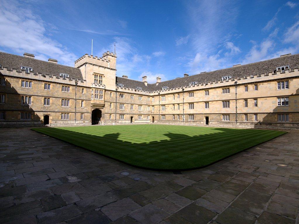 Wadham College Quad