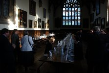 Formal dining at Wadham College