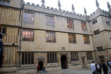 Old Schools Quadrangle at The Bodleian Library