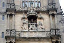 Tower detail at The Bodleian