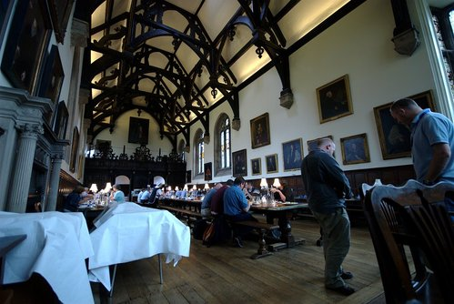 Wadham College dining hall
