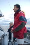 Sailing along