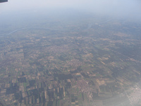 The Nile delta from above