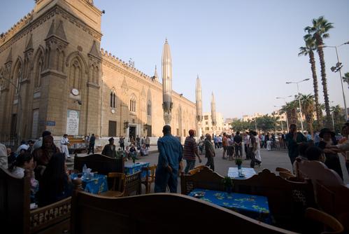 Cafe near Khan el Khalili market