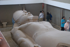 Reclining statue of Ramesses II