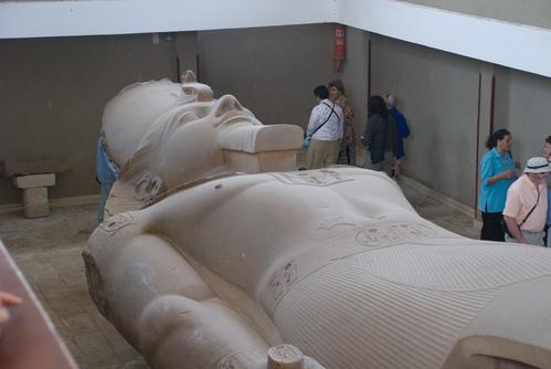 Reclining statue of Ramesses II
