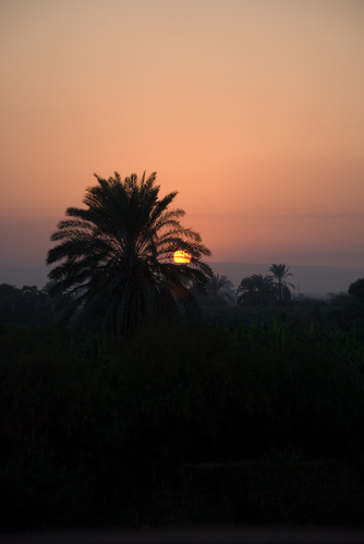 Sunset on the Nile