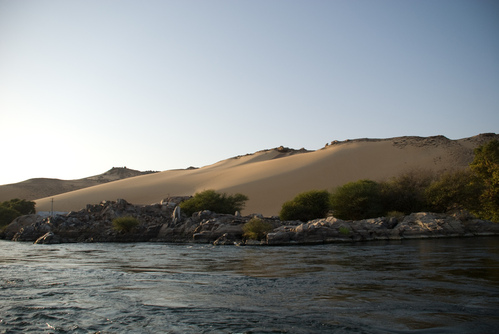 The Nile and the Sahara
