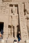 Abu Simbel temple to Nefertari