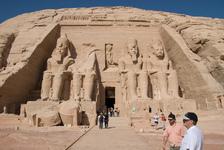 Abu Simbel temple to Ramesses II