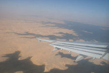 Lake Nasser from above