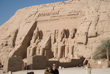 Abu Simbel temple to Ramesses II