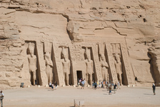 Abu Simbel temple to Nefertari