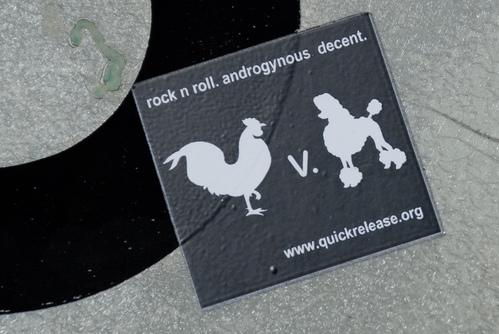 Rooster v Poodle