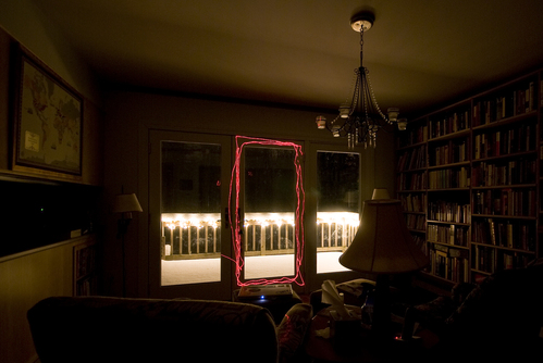 Library by porchlight
