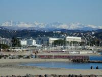 Mountains Beyond Cannes from Mandelieu