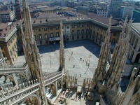 The Roof of the Duomo in Milan