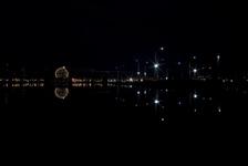 Lights on False Creek