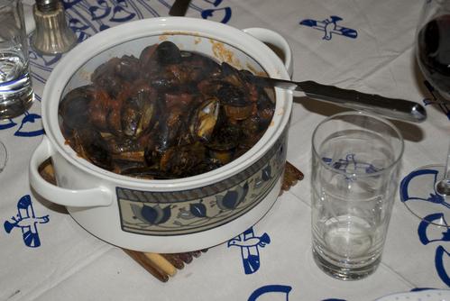 Mussels fra diavlo