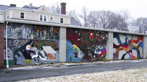 Amherst mural