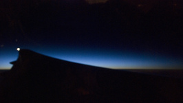 Early morning over the Atlantic