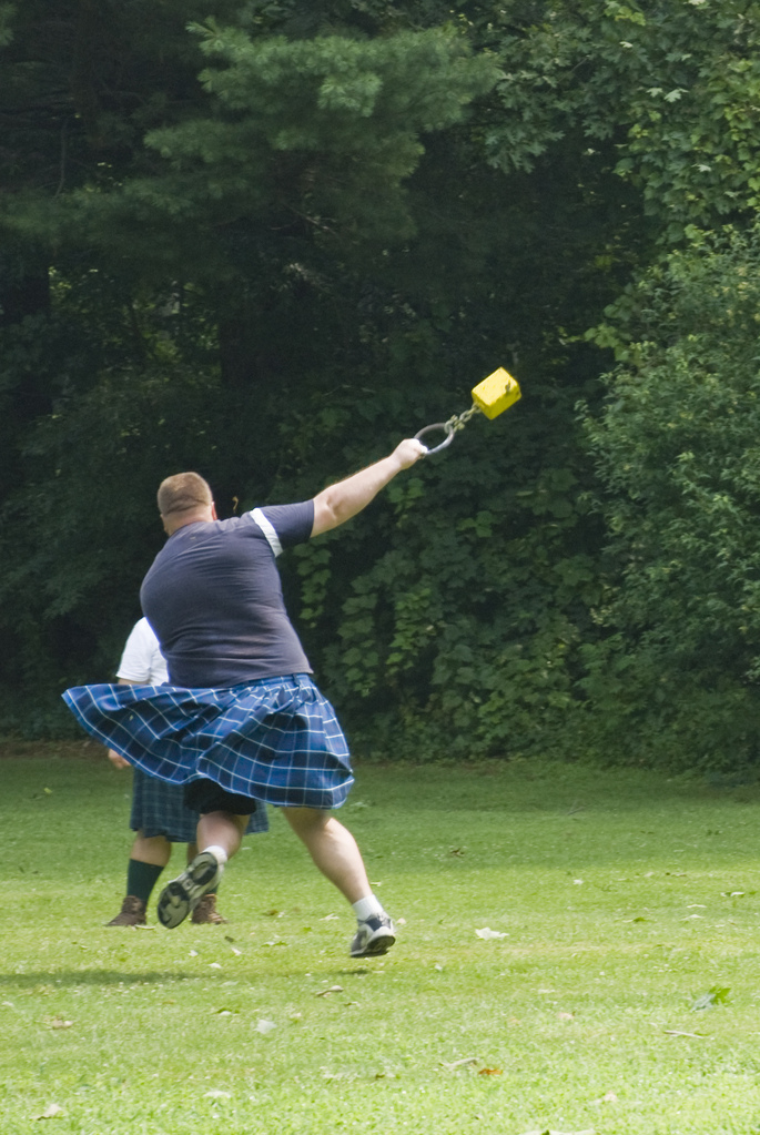 At the Scottish Festival in Look Park
