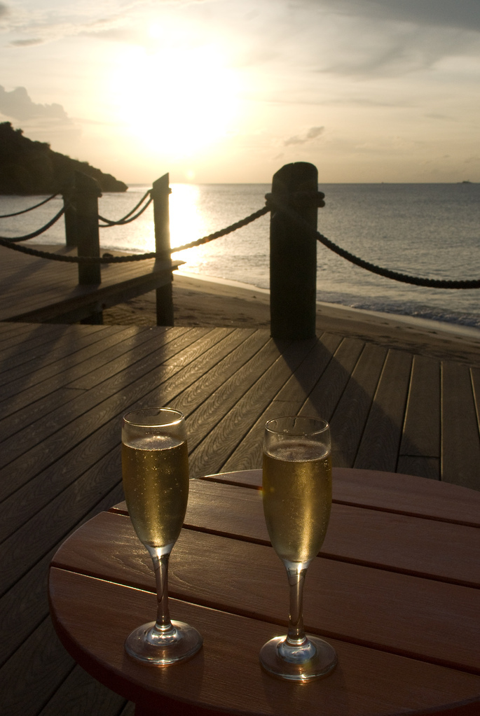 Sunset Champagne