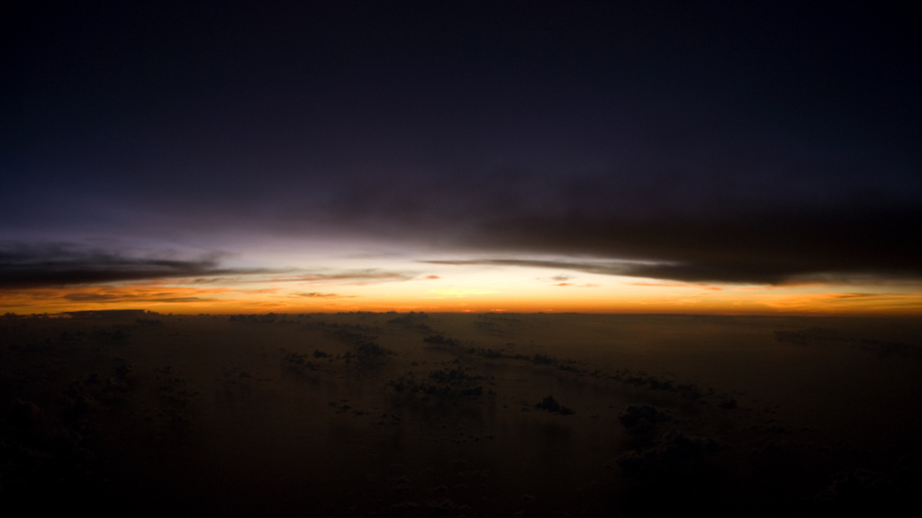 Sunset over the Atlantic