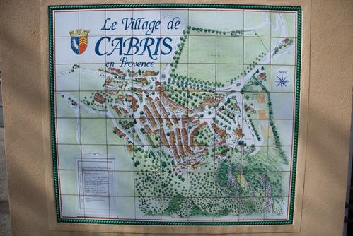 Cabris map