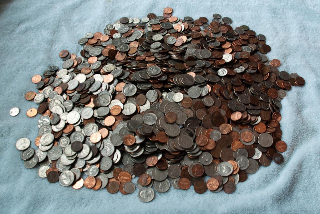 Pile o' money