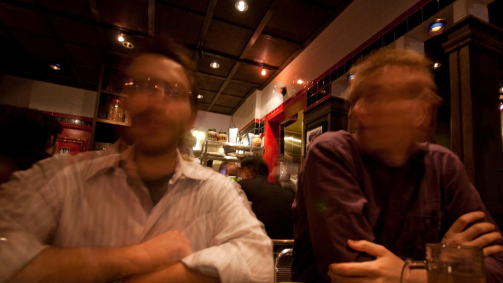 Chris and Olav