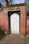 Churchyard door