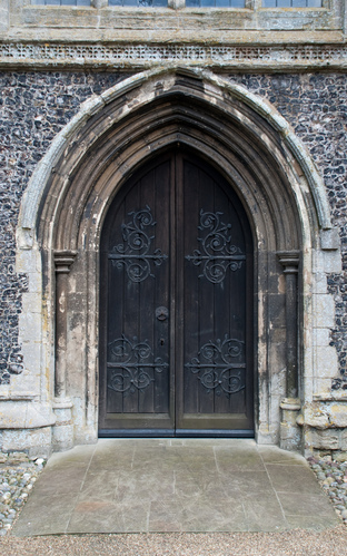 Aylsham Church door