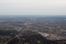 Chicago exurban sprawl