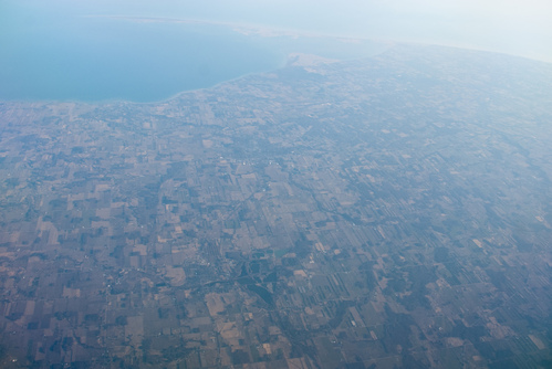 Erie farmland in Canada