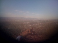 Phoenix from the top of Camelback Mountain