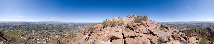 360 Pano from Camelback Mountain