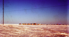 Browerville from the tundra, Mar 1960