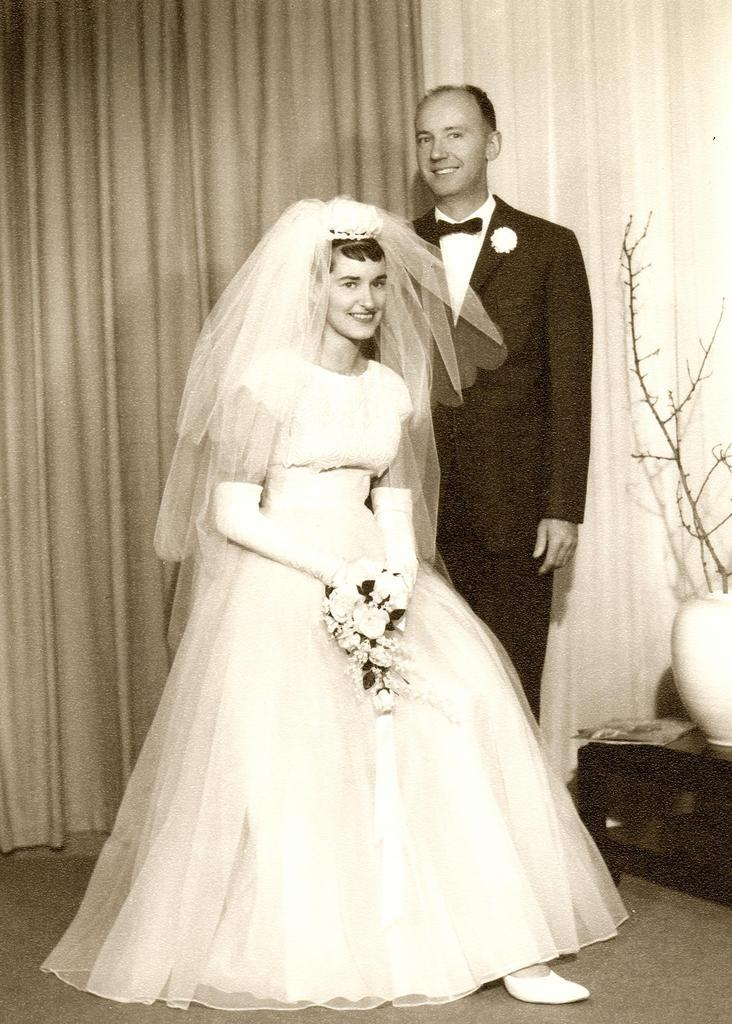 Mom and dad, August 1961