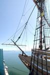 Mayflower II rigging