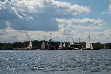 Sailing on Barton Broad