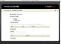 LogExplorer database settings