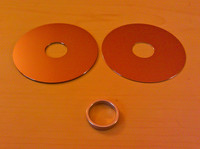 Hard disk face