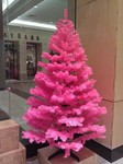 Holy pink Christmas trees!