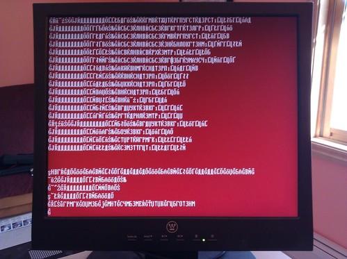 CentOS 5.5 Install #FAIL