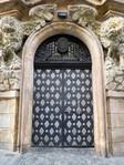 Silver door