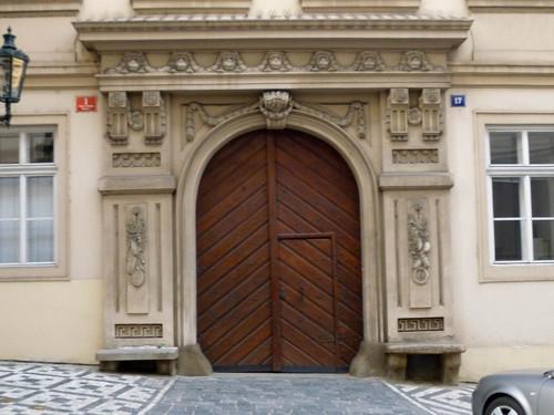 Door within door