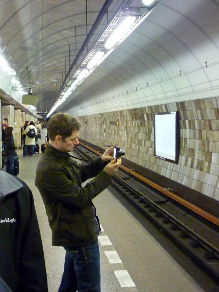 Photos in the metro