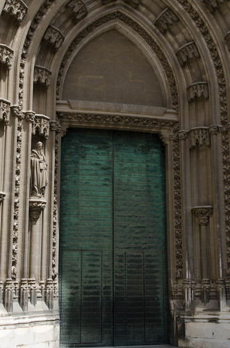 Cathedral of Saint Mary of the See door